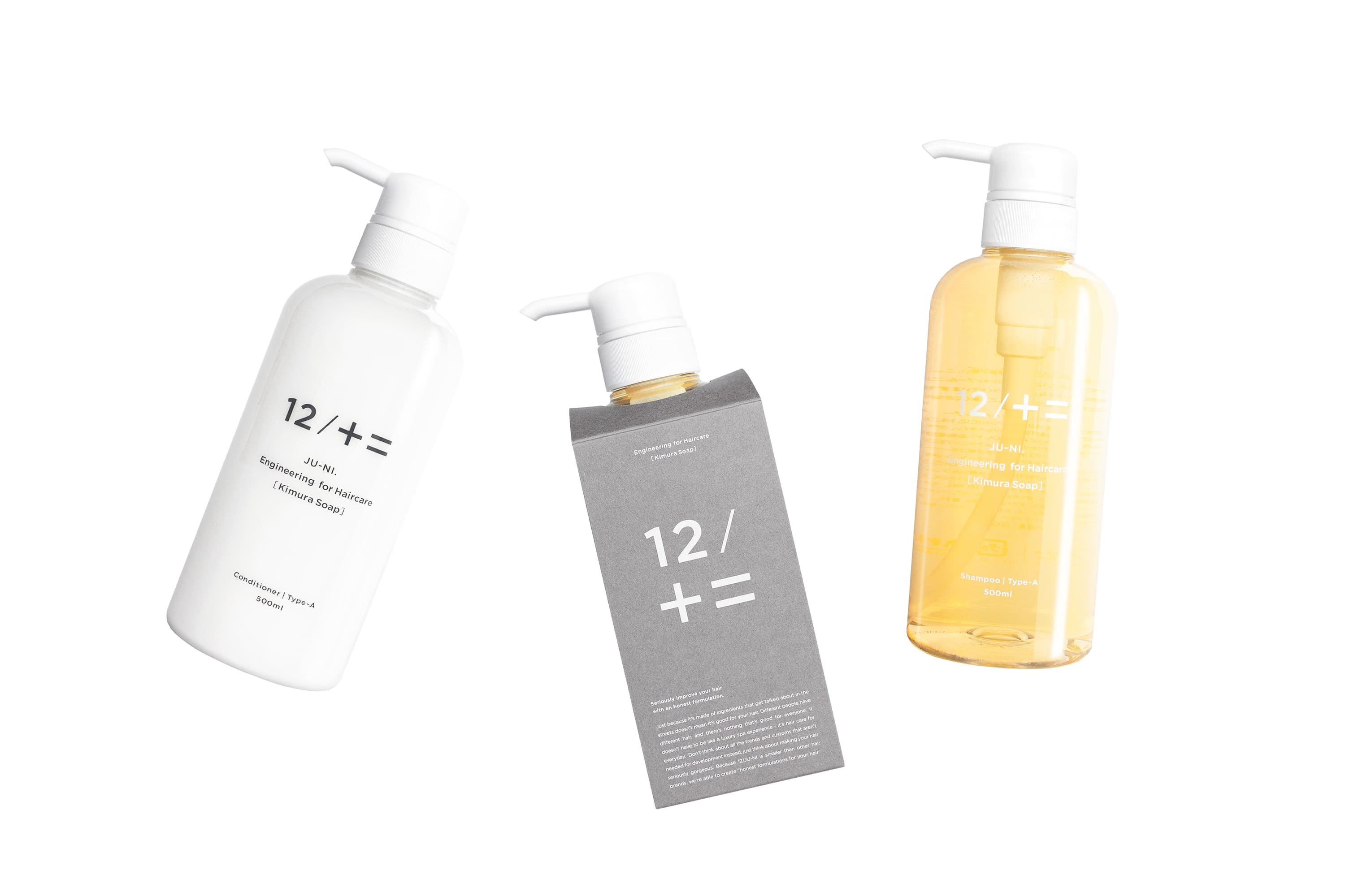12/JU-NI|Shampoo and conditioner